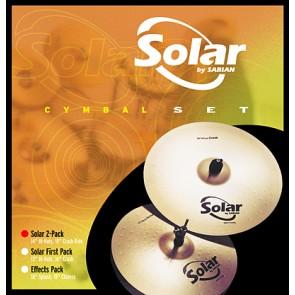 Sabian Solar 2 Pack