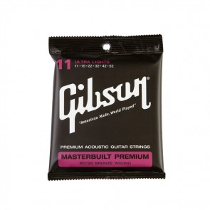 Gibson Masterbuilt Premium 80/20 Brass žice za akustičnu gitaru-11