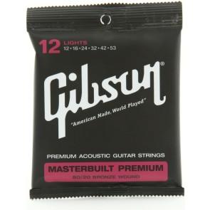 Gibson Masterbuilt Premium 80/20 Brass žice za akustičnu gitaru-12