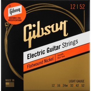 Gibson Flatwound žice za električnu gitaru .012 .016 .024w .032 .042 .052