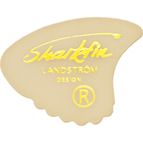 Sharkfin Goldprint Medium White