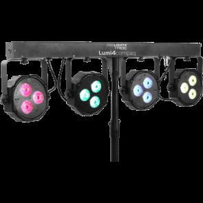 Tribe 4 x LED LUMI4COMPAQ RGB DMX