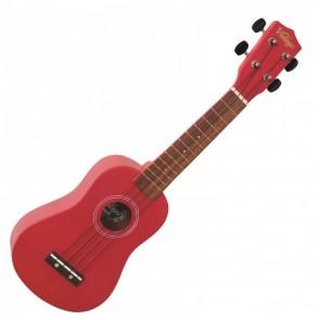 Vintage Soprano Ukulele, Satin Red