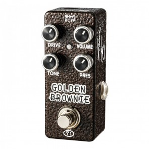 Xvive Golden Brownie Distortion pedala Thomas Blug