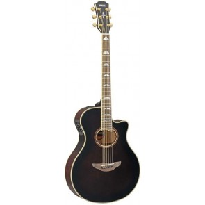Yamah APX1000 Mocha Black elektro-akustična gitara s koferom - izložbeni primjerak