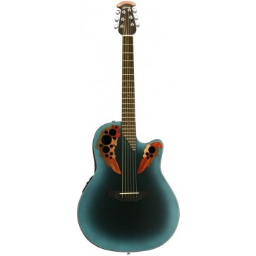 Ovation CE44-RBB Mid-Cutaway Reversed Blueburst