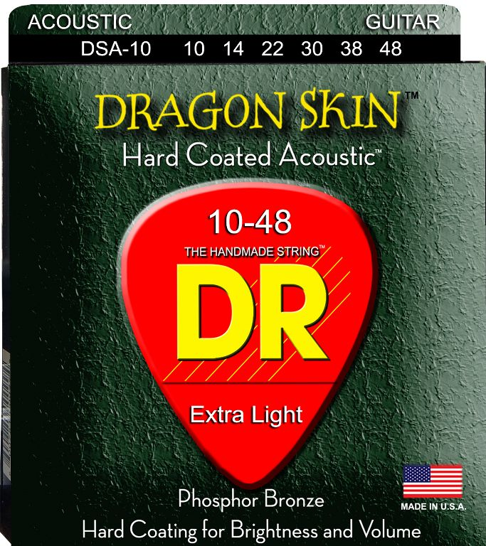 DR Dragon Skin 010 - 048 žice za akustičnu gitaru