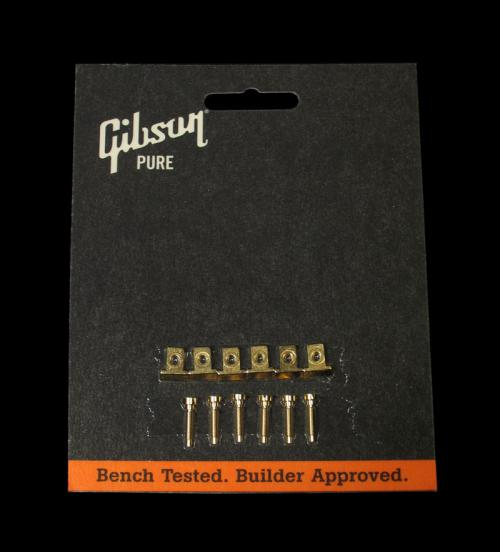 Gibson Nashville Tune-O-Matic Saddles (Gold)