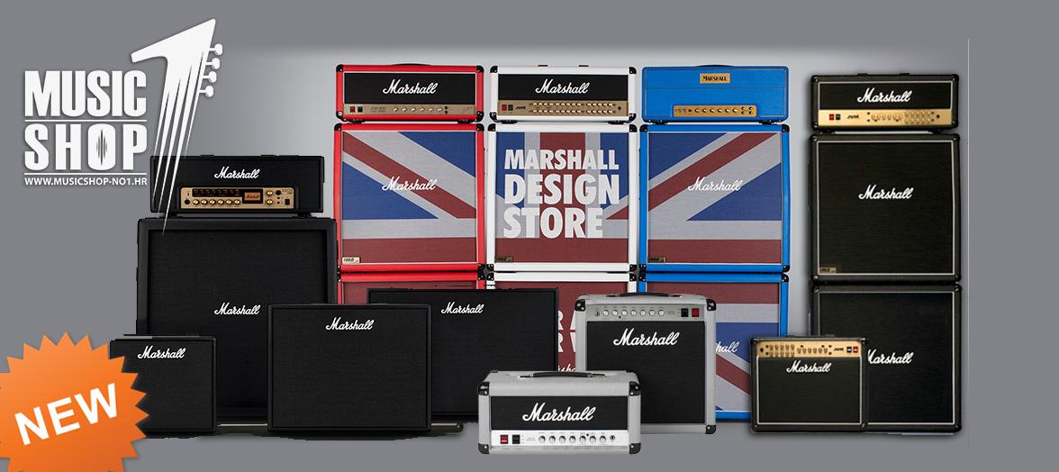 Stigla nova pošiljka Marshall pojačala i ostale opreme