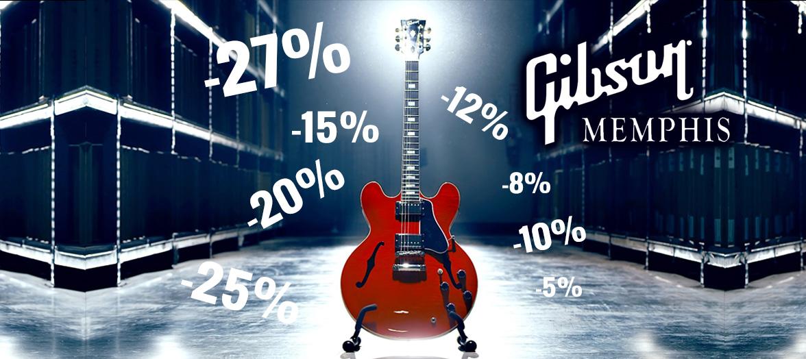 Mjesec Gibson Memphis ES modela