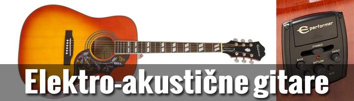 Elektro-akustične gitare