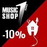 10% popusta za članove Glazbene Kuće